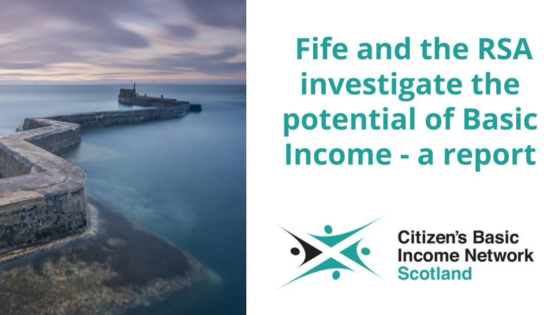 """The RSA's report """"A Basic Income for Scotland"""" – What you need to know"""