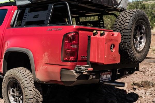 Chevy Colorado CBI Offroad Rear Bumper03