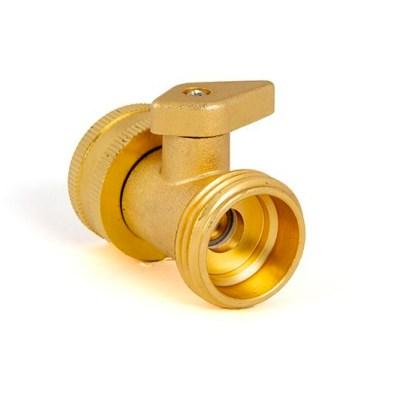 Shut off valve for day tank