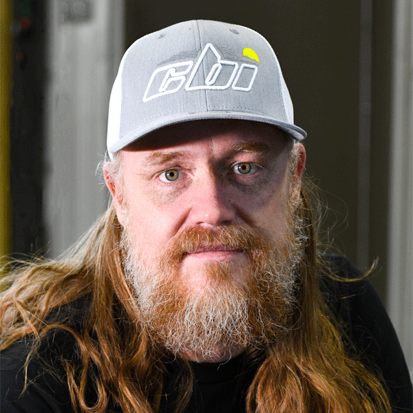 CBI Grey / white flexfit hat