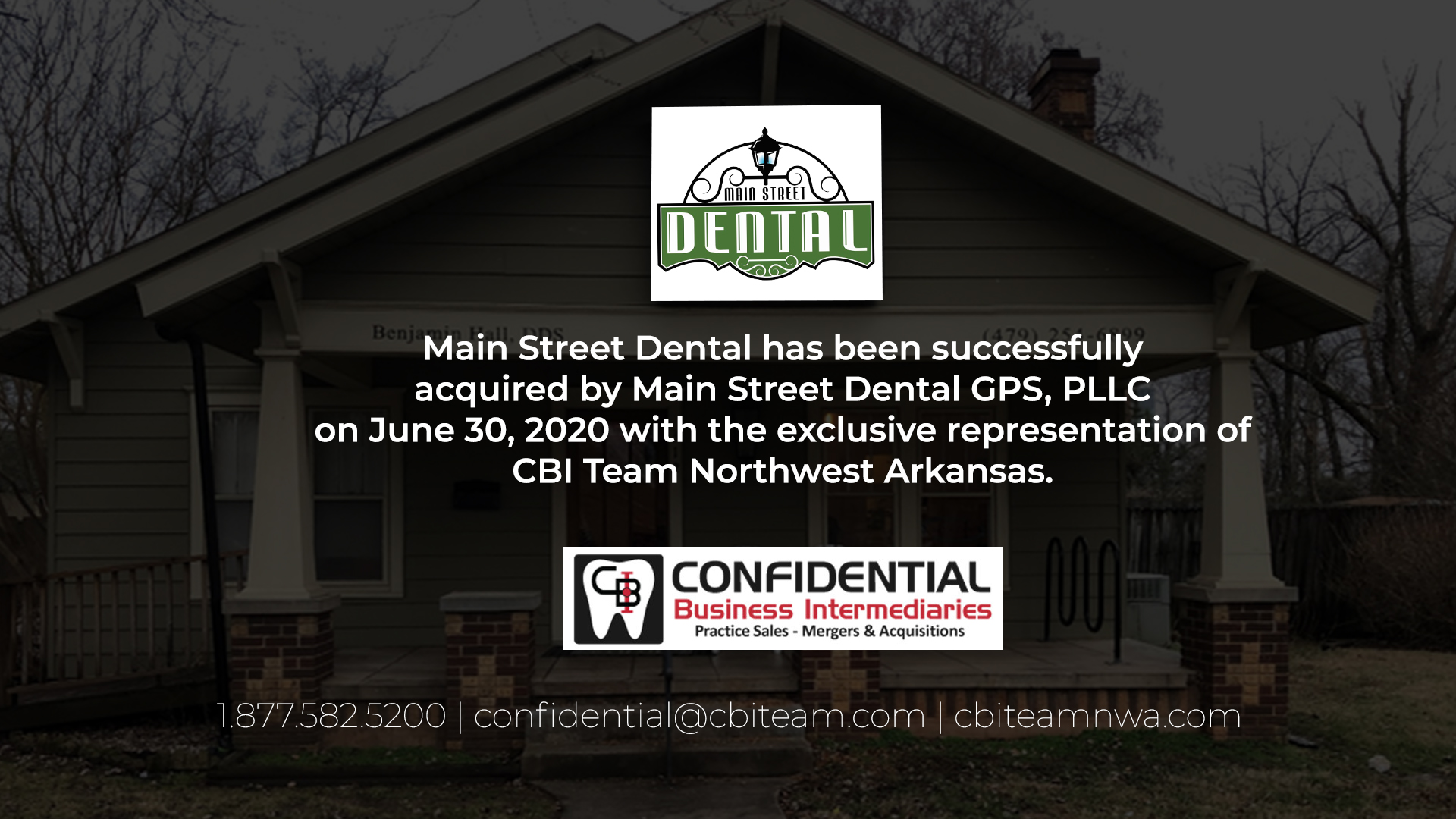 Read more about the article Main Street Dental Sold