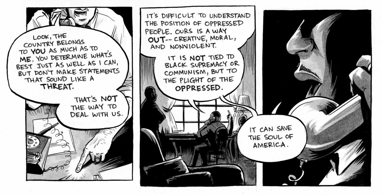 Using Graphic Novels In Education March Book Two