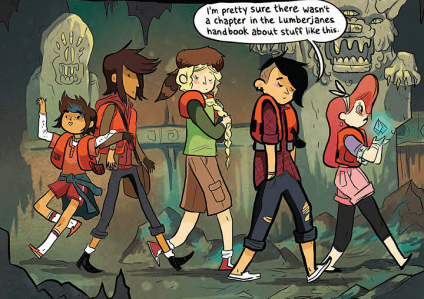 Image result for lumberjanes volume 1