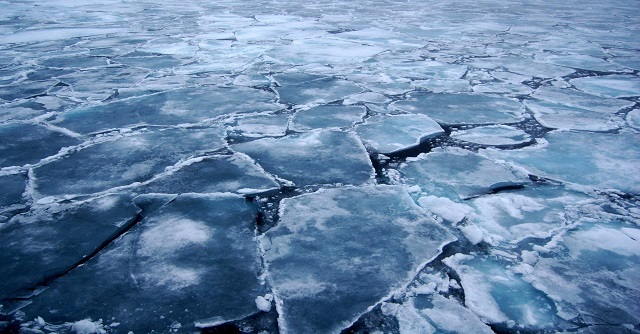 крига, водойма, лід
