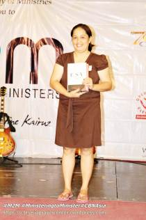 ...a missionary pastor from Zamboanga Sibugay, Pastora Miraflor