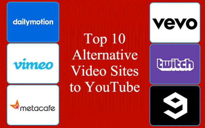 Top 10 Alternative Video Sites to YouTube