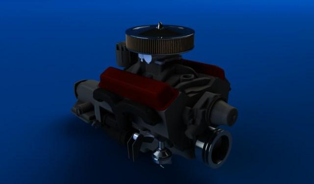 moteur V8