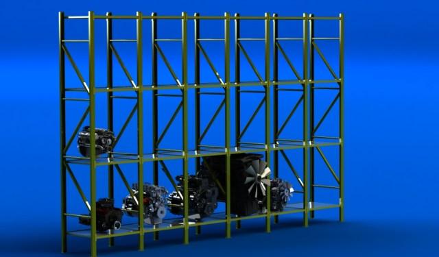 rack moteurs