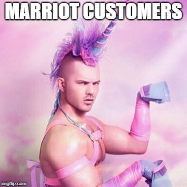 Travel Memes - Marriot Customers