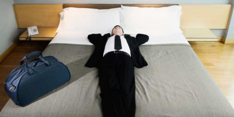 Sleep_while_traveling Myths About Business Travel