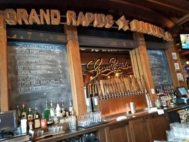 Grand Rapids Brewing Company Bar