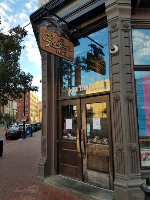 Grand Rapids Brewing Company Front