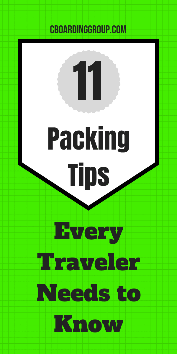 11 Packing Tips Every Traveler Needs to Know - Travel Smart