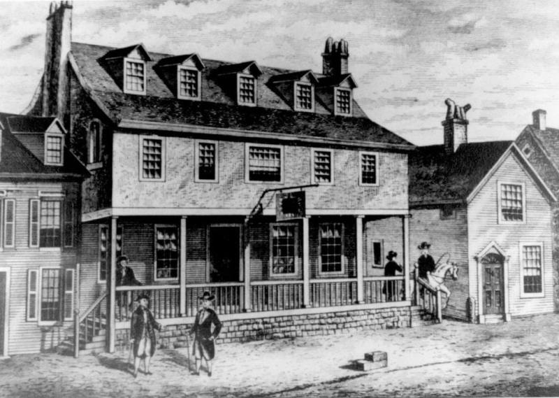 1200px-Sketch_of_Tun_Tavern_in_the_Revolutionary_War