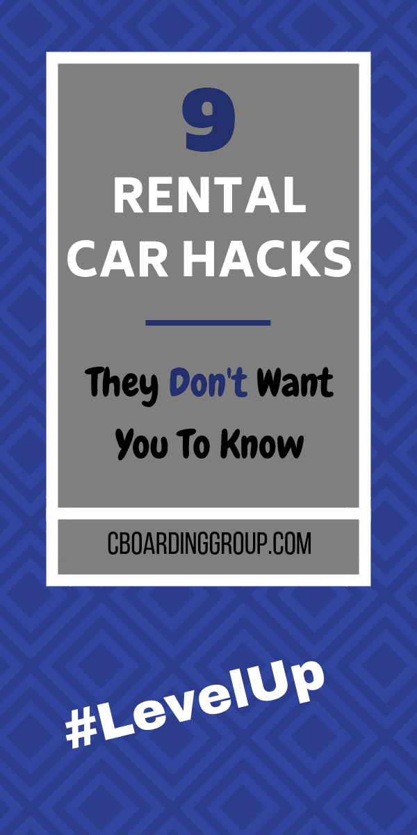 9 Rental Car Hacks They Don't Want You to Know