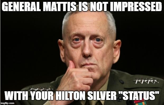 General Mattis Travel Meme