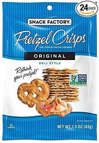 Pretzel Crisps - Healthy Travel Snack