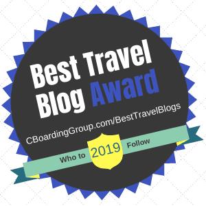 Best Travel Blog for 2019 Awardee