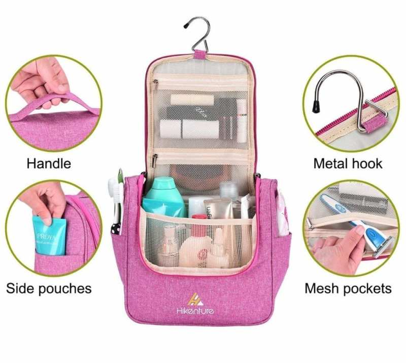 Cosmetic Travel Bag Hanging Toiletry Organizer2