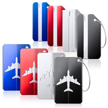 Luggage Tags - important business travel tips