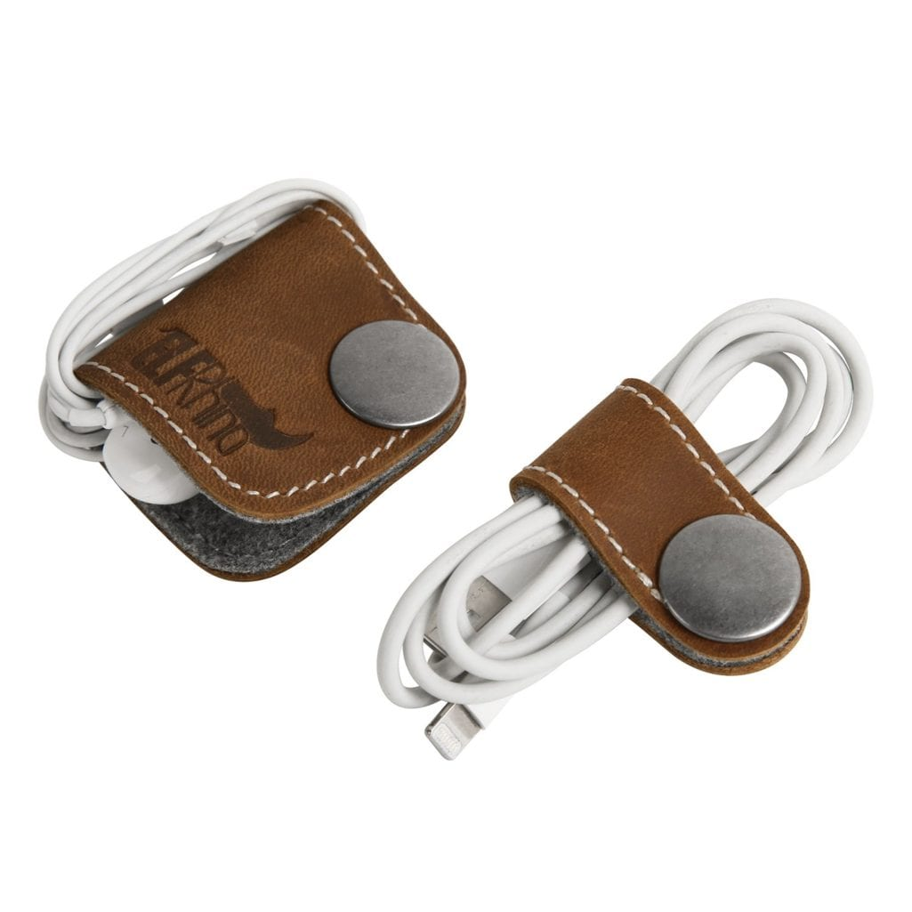ELFRhino Genuine Leather Headphone Earphone Organiser 1.jpg