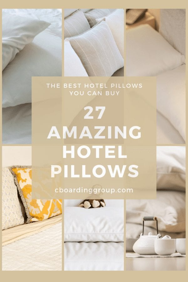 27 amazing hotel pillows the best
