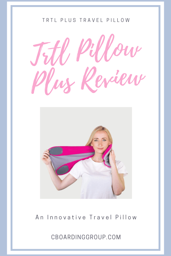 trtl pillow plus review is this