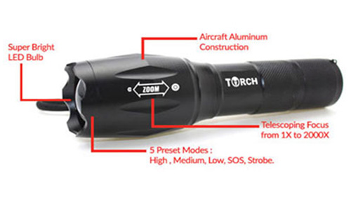 Torch Tactical Flashlight Review