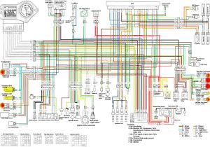 CBR600F4i_(2001-2006)_схема