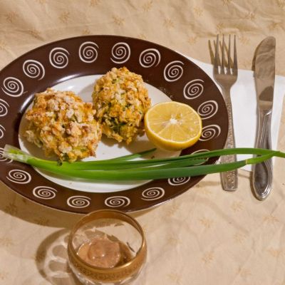 Kosher crab cakes