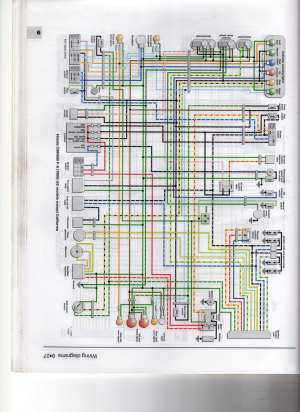 looking for wiring diagram for my f3 rr and stator  CBR