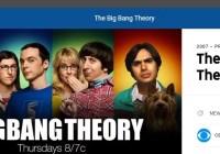 The Big Bang Theory on YouTUbe TV