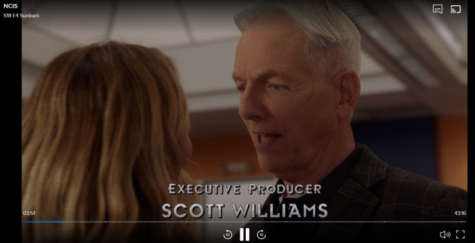 I am watching NCIS on CBS.com with VyprVPN