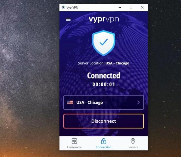 vyprvpn server in the USA