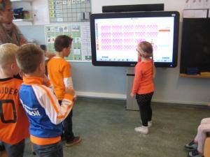 Gebruik van het digibord door leerlingen