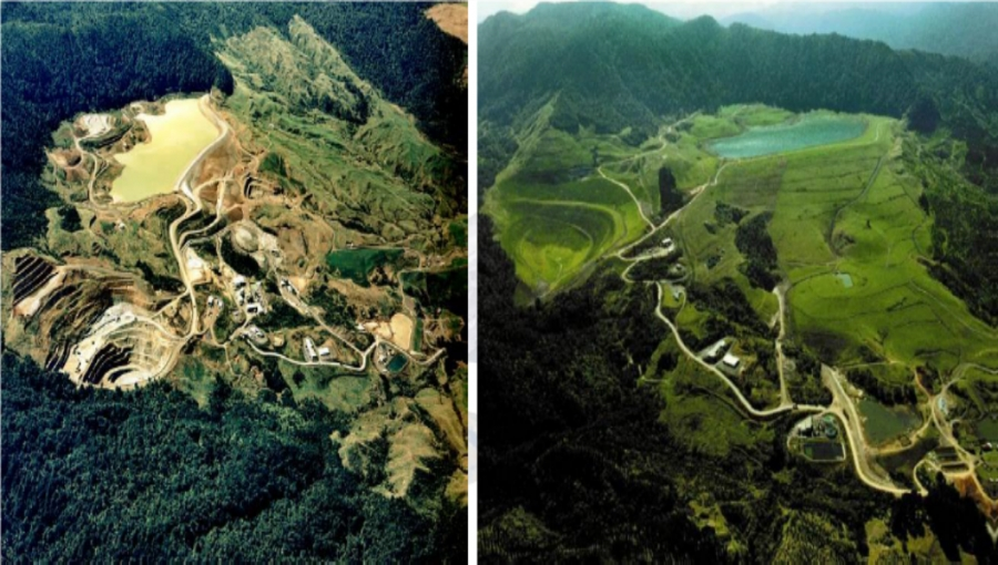 Before and after Soil Erosion