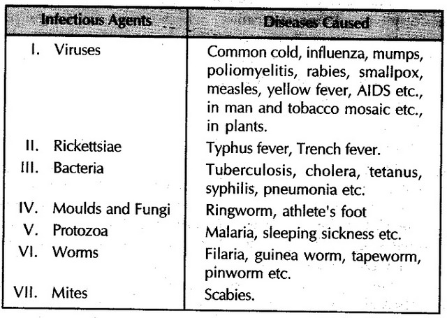 pathogens and diseases