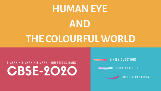 Human Eye and the Colourful World