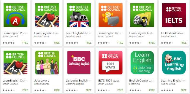 Android Apps by British Council on Google Play
