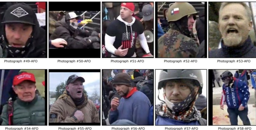 SEE IT: FBI Releases More Images Of Suspected Rioters From The U.S. Capitol