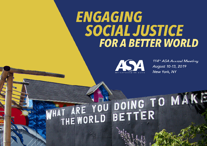CBSM Events at ASA 2019