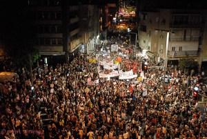 Tel Aviv anti-austerity protests