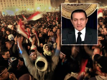 Image result for mubarak resignation