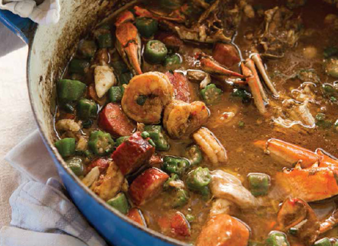 Recipe Mamma S Seafood Gumbo From Chef John Besh Cbs News