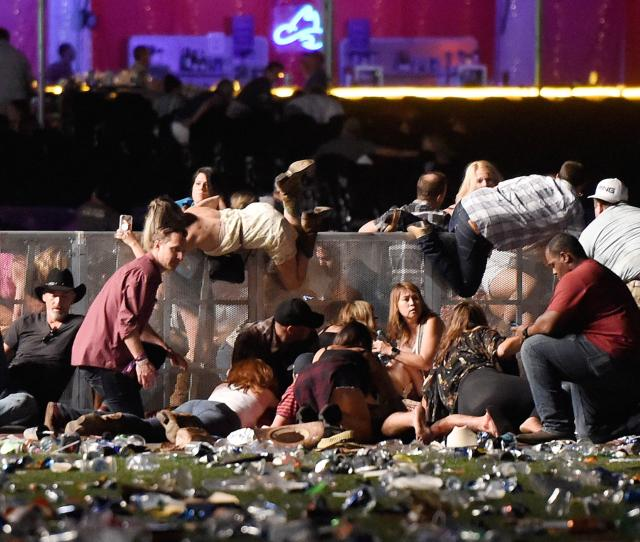 Las Vegas Shooting One Year Later Hundreds Of Videos Traumatize Some Survivors