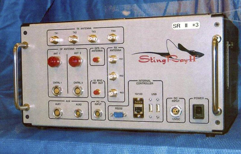 A Stingray device manufactured by Harris Corp