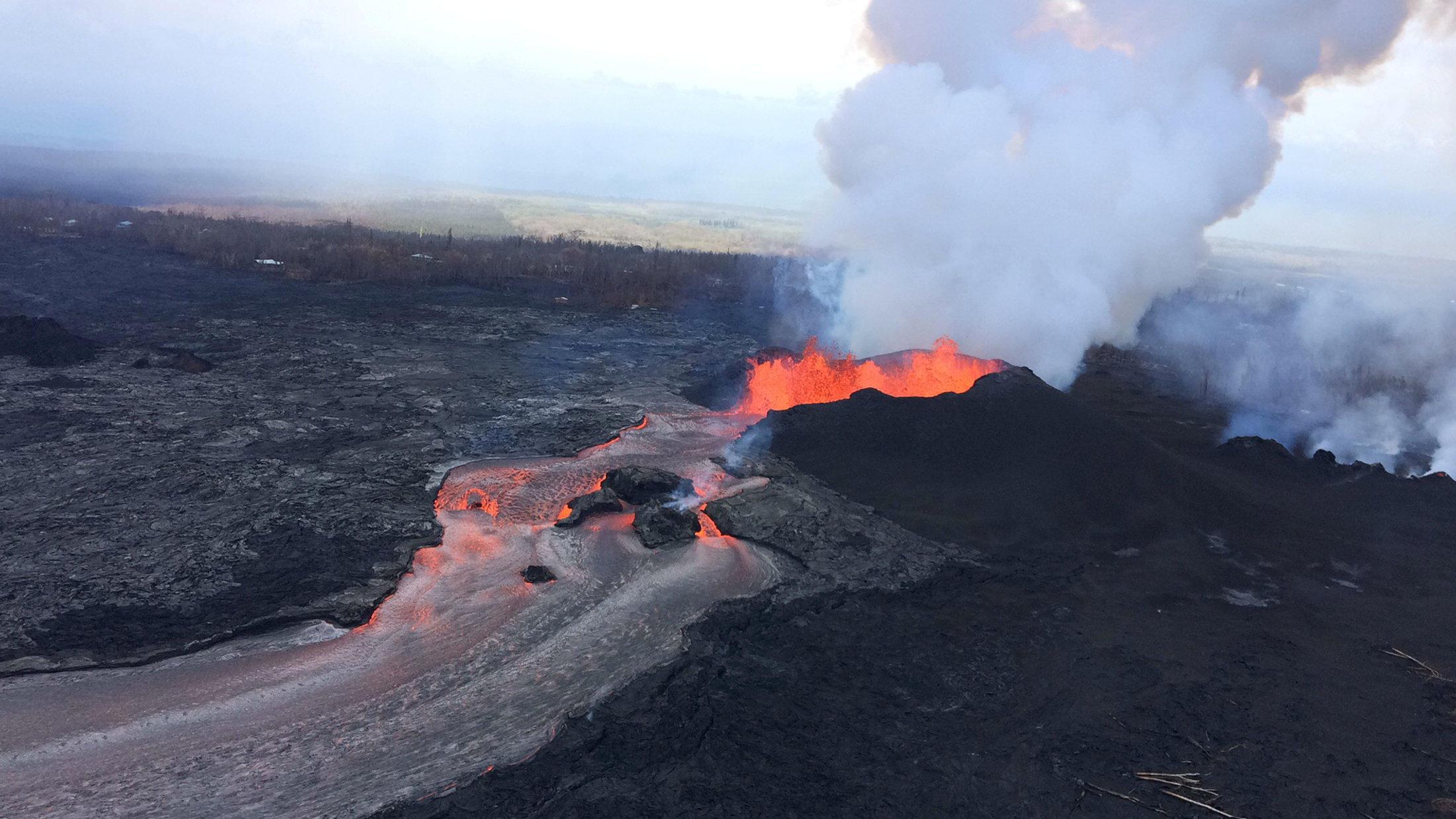 Kilauea Volcano Eruption Seismic Activity Increases