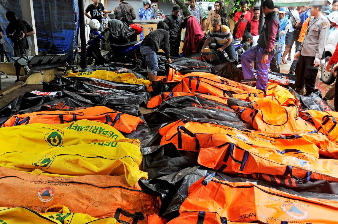 Indonesia Tsunami: Death toll rises to 222 after tsunami sweeps Indonesia coast New York Post