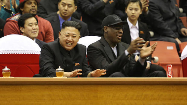 Image result for dennis rodman meeting kim jong un