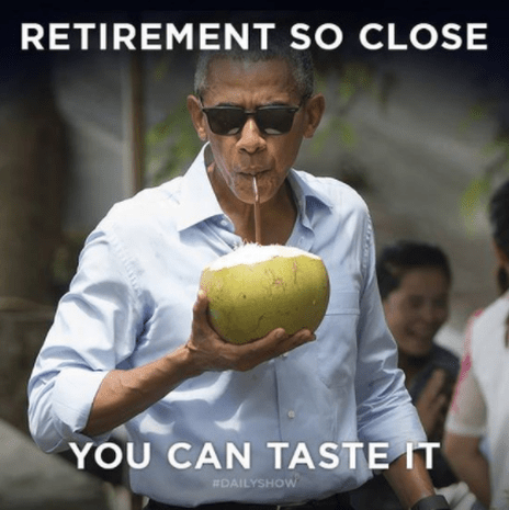 Retirement Hilarious Barack Obama Memes Cbs News